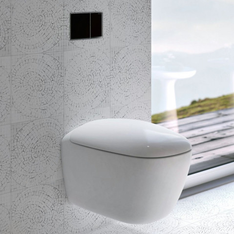 Geberit Citterio Wall Hung Toilet Rimfree