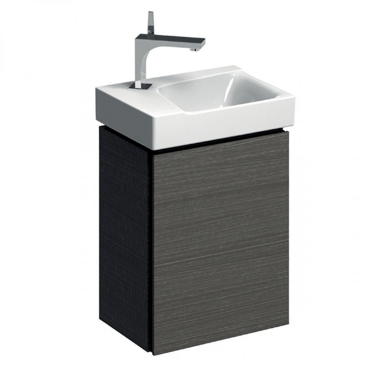 Geberit Xeno2 400mm Cloakroom Vanity Unit With One Door