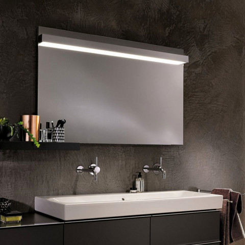 Geberit Icon Mirror With Overhead Lighting