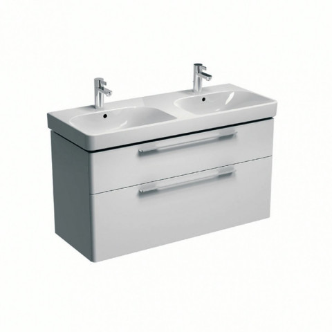 Geberit Smyle 1200mm Double Vanity Unit With 2 Drawers