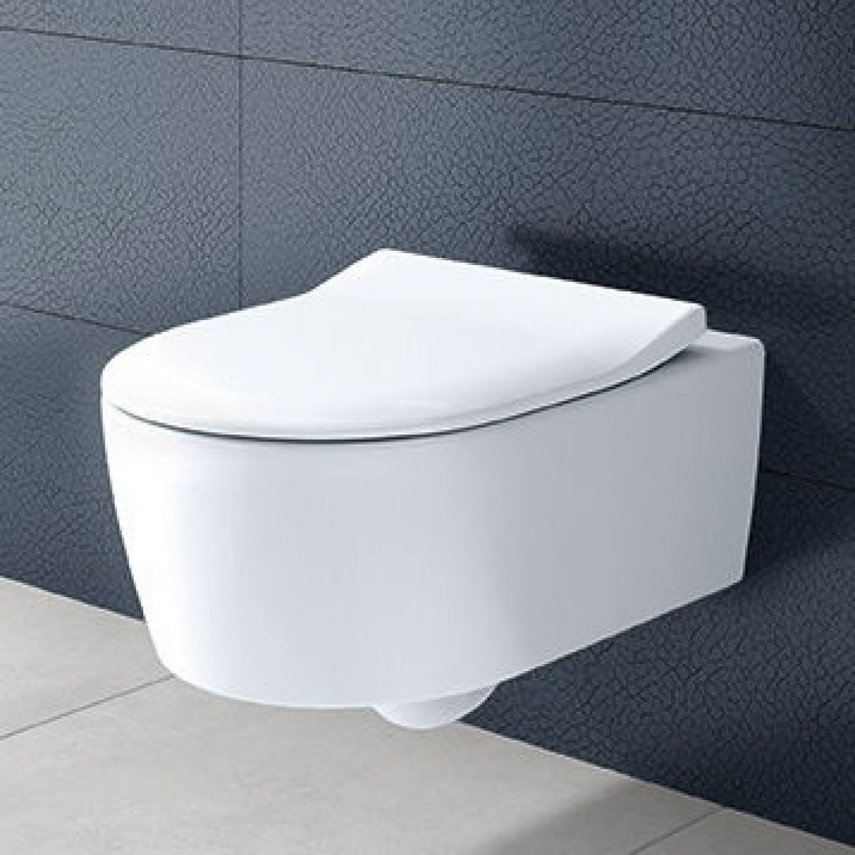 villeroy boch avento wall hung rimless toilet. Black Bedroom Furniture Sets. Home Design Ideas