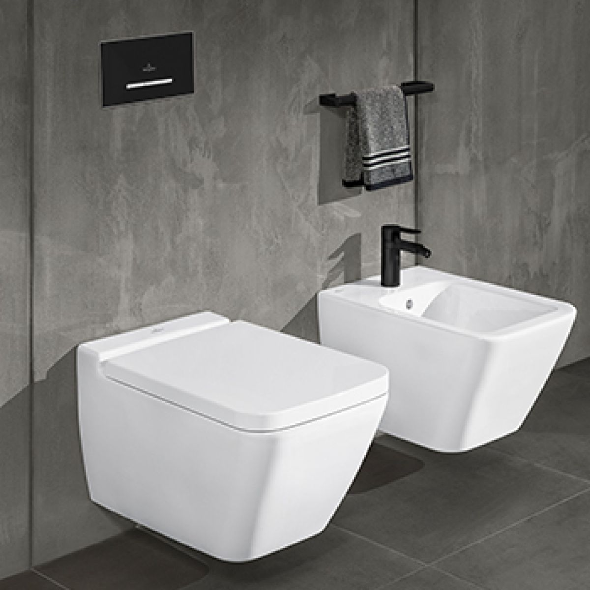 Villeroy & Boch Finion Wall Hung Rimless Toilet