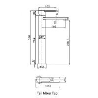 Crosswater Wisp Basin Mixer
