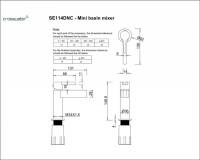 Crosswater Svelte Basin Mixer