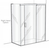 Matki Eauzone Plus Sliding Door Enclosure For Corner (EPSC)