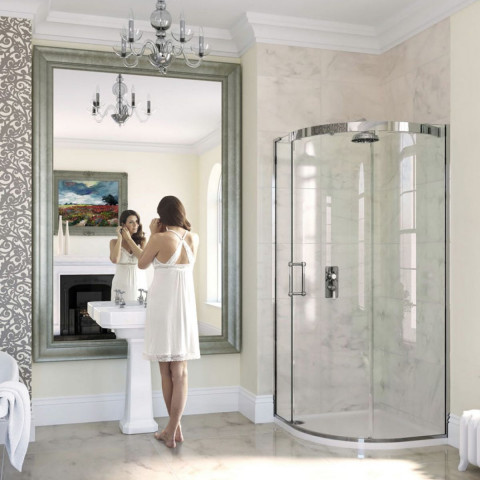 Matki Eauzone Plus Curved Corner Shower Enclosure (CLC)