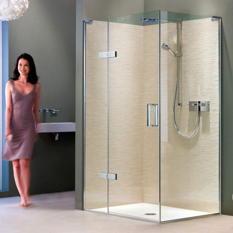 Matki Eauzone Plus Hinged Door With Hinge Panel For Corner (EPHC)
