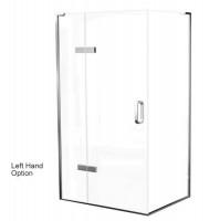 Matki Eauzone Plus Hinged Door With Hinge Panel For Corner (EPHC)