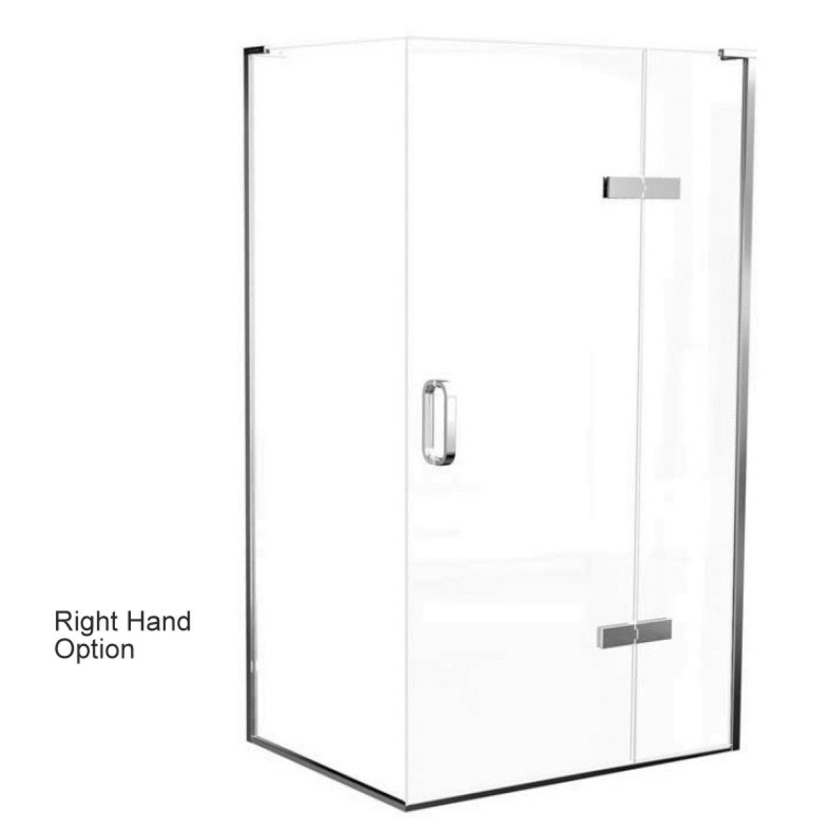 Matki Eauzone Plus Hinged Door With Hinge Panel For Corner