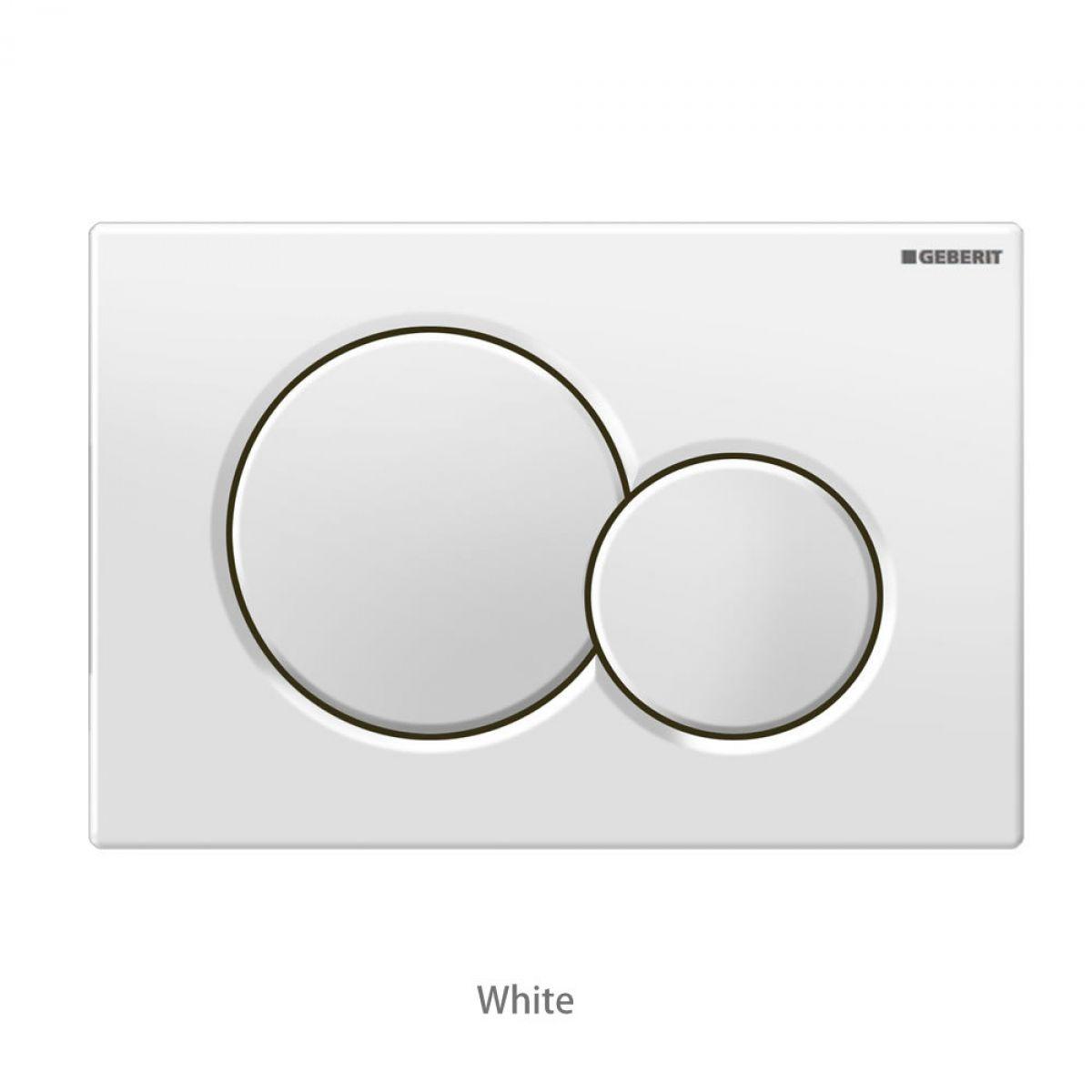 Geberit sigma01 dual flush plate bathrooms direct yorkshire for Geberit toilet system
