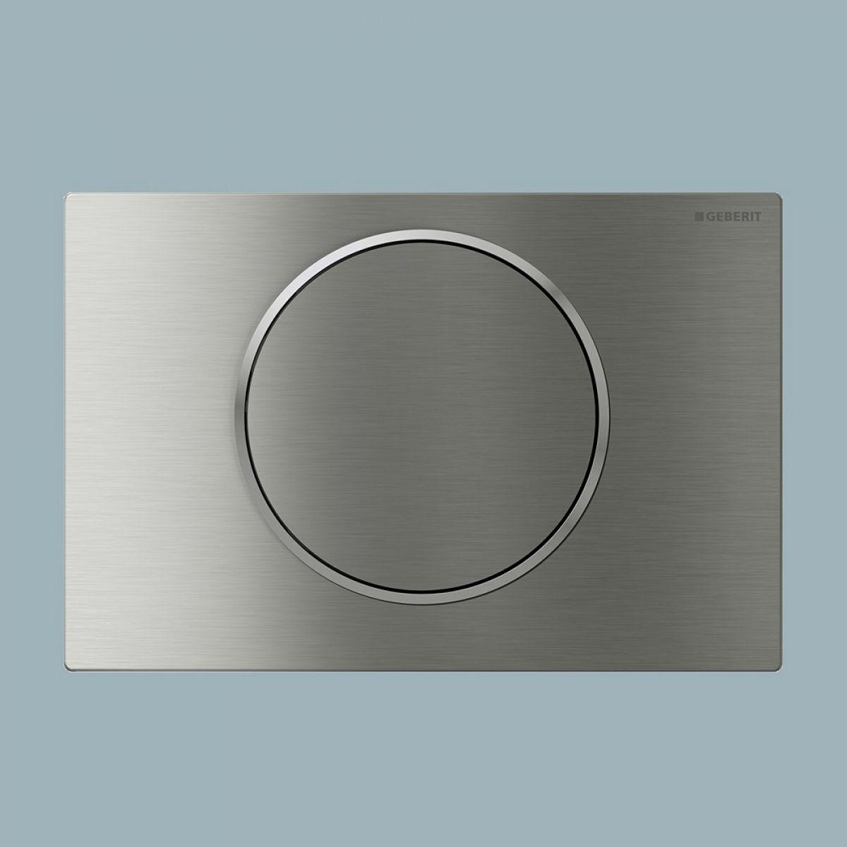 geberit sigma10 single flush plate bathrooms direct. Black Bedroom Furniture Sets. Home Design Ideas