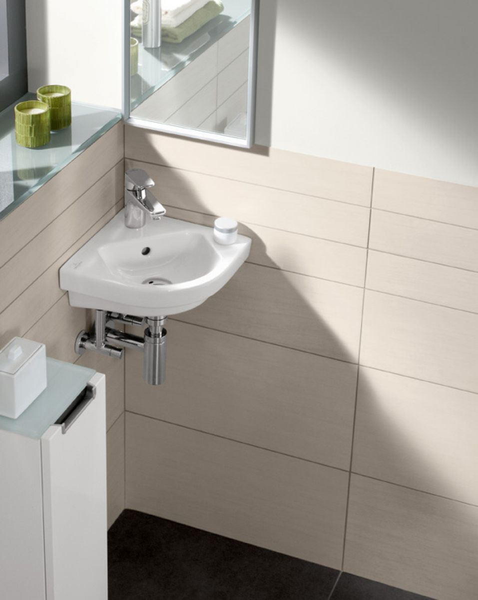 villeroy boch subway 2 0 corner handwash basin. Black Bedroom Furniture Sets. Home Design Ideas