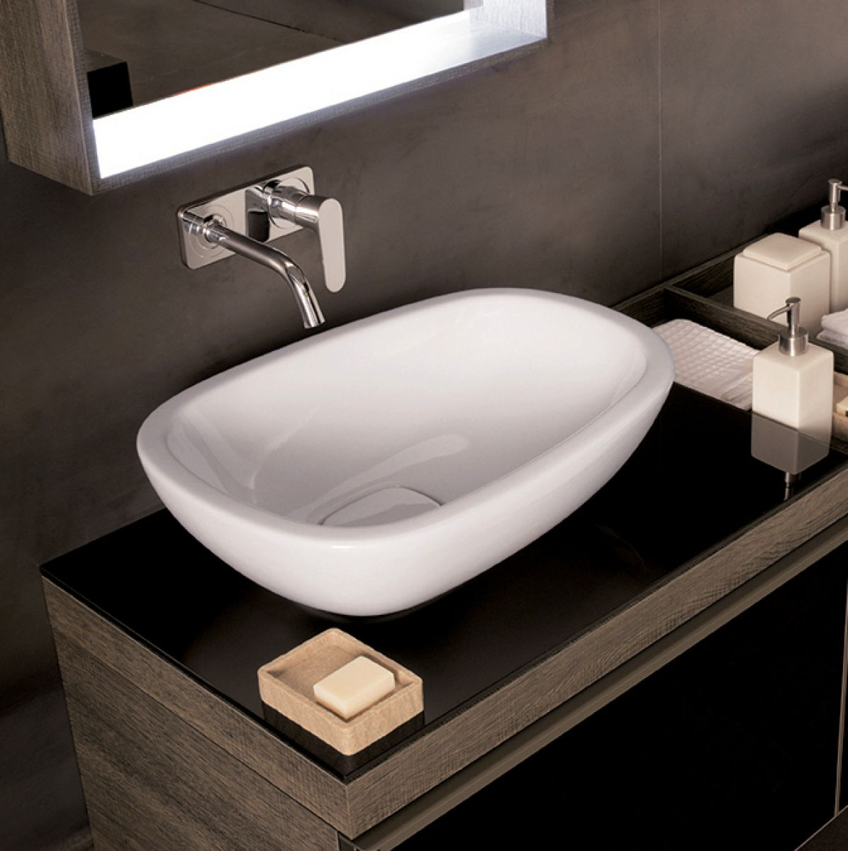 Geberit Citterio 560mm Lay On Washbasin