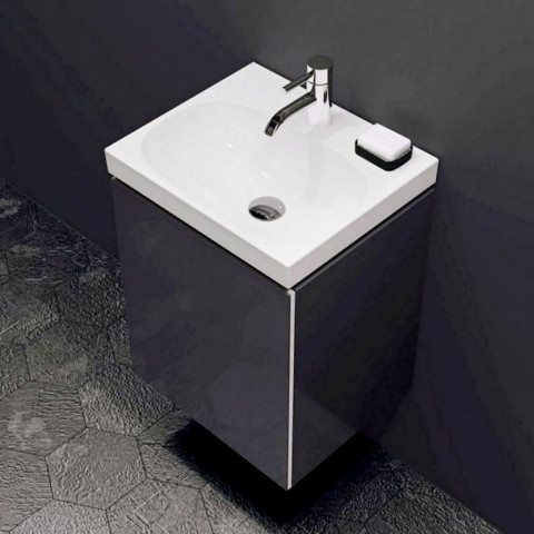 Geberit Acanto Vanity Unit For Handrinse Basin 1 Door