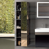 Geberit Citterio 1600mm Shelf Unit With Mirror
