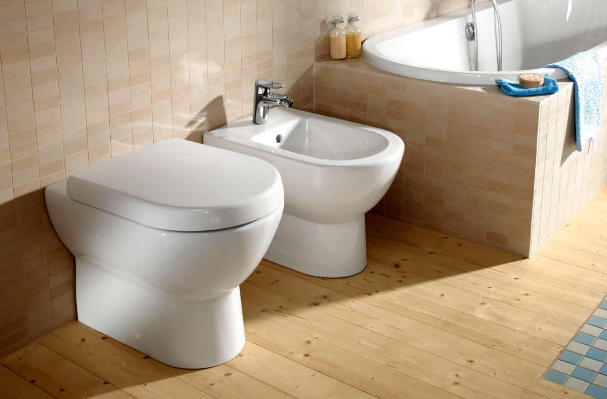 Villeroy boch subway soho back to wall toilet bathrooms