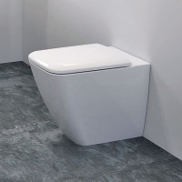 Geberit Icon Square Back To Wall Toilet Rimfree