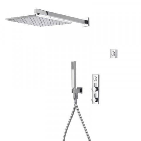 Aqualisa HiQu Dual Outlet Smart Digital Shower with 300mm Square Head & Handset