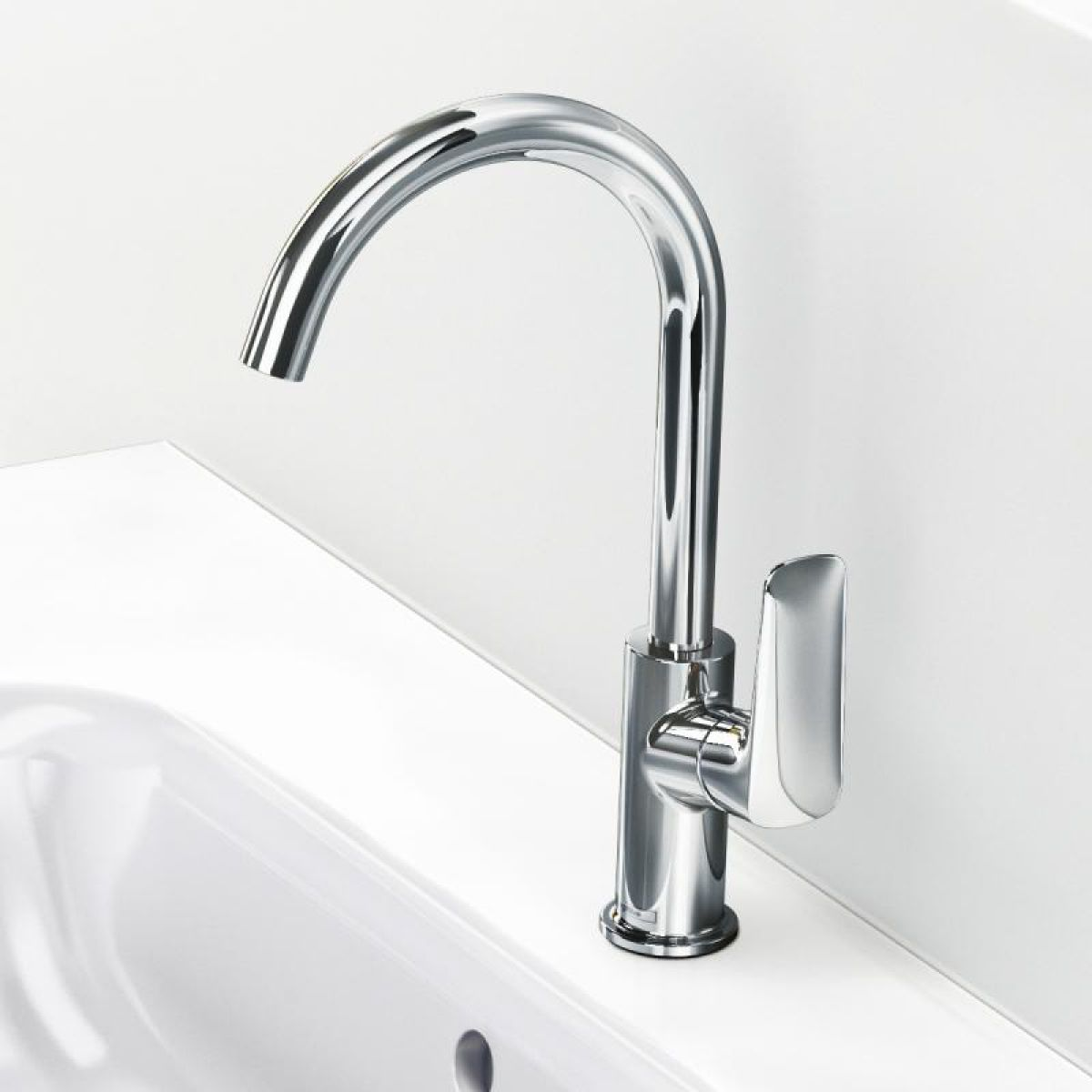 Hansgrohe Logis 210 Basin Mixer With Swivel Spout