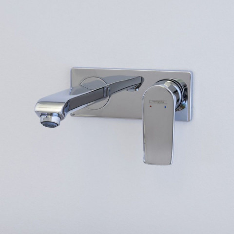 Hansgrohe Metris Wall Mounted Basin Mixer