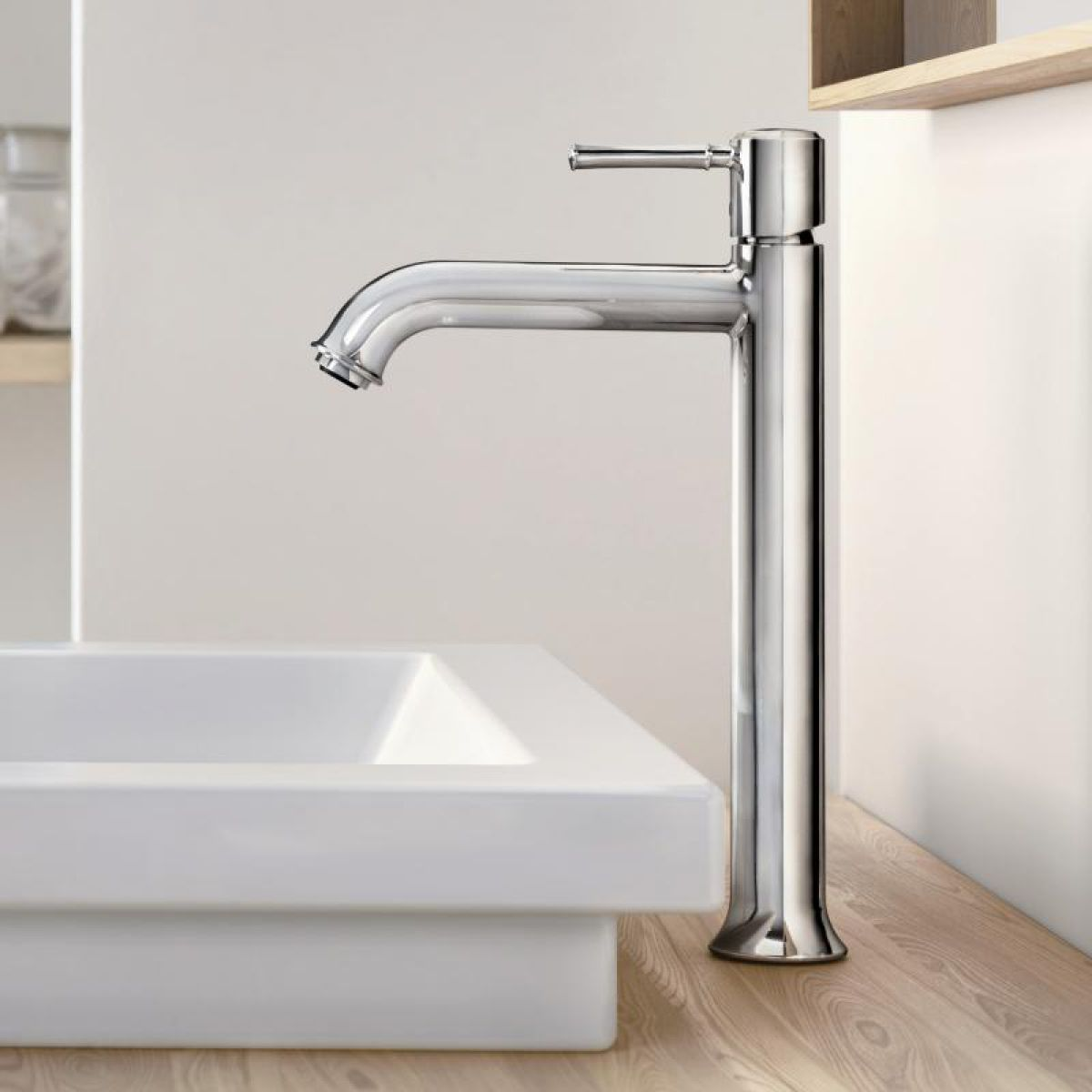 Hansgrohe Talis Classic Tall Basin Mixer | Bathrooms Direct Yorkshire