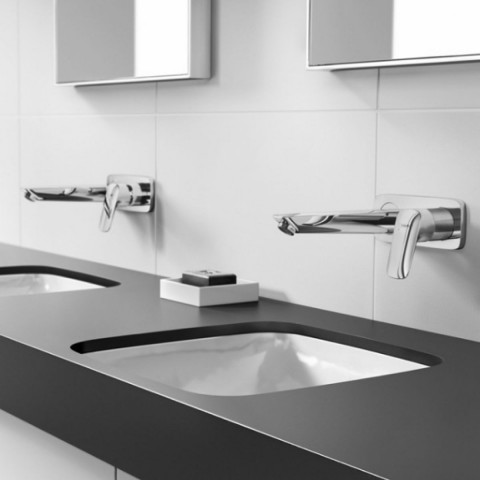 Hansgrohe Logis Wall Mounted Basin Mixer