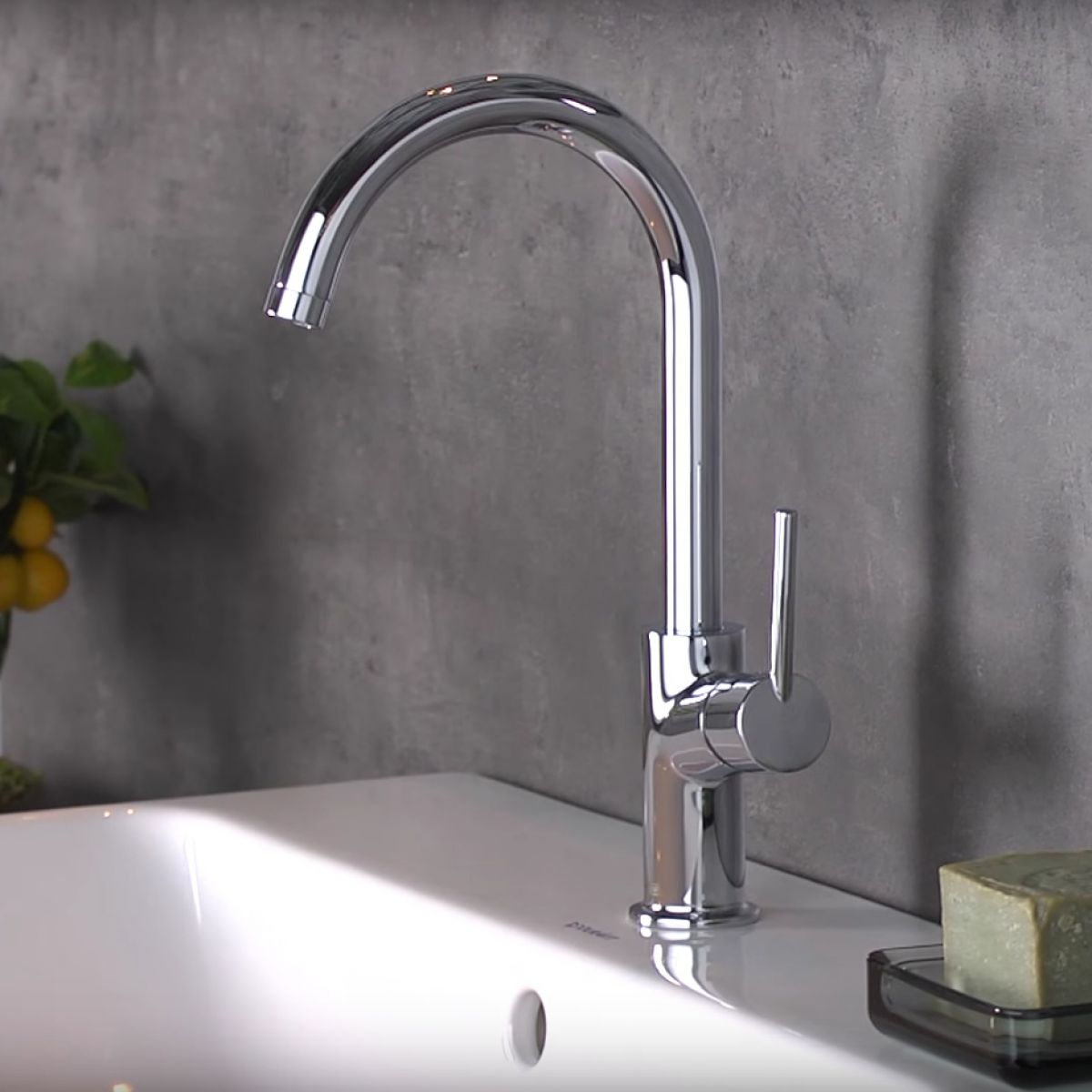 Hansgrohe Talis Basin Mixer 210 With Swivel Spout | Bathrooms Direct ...