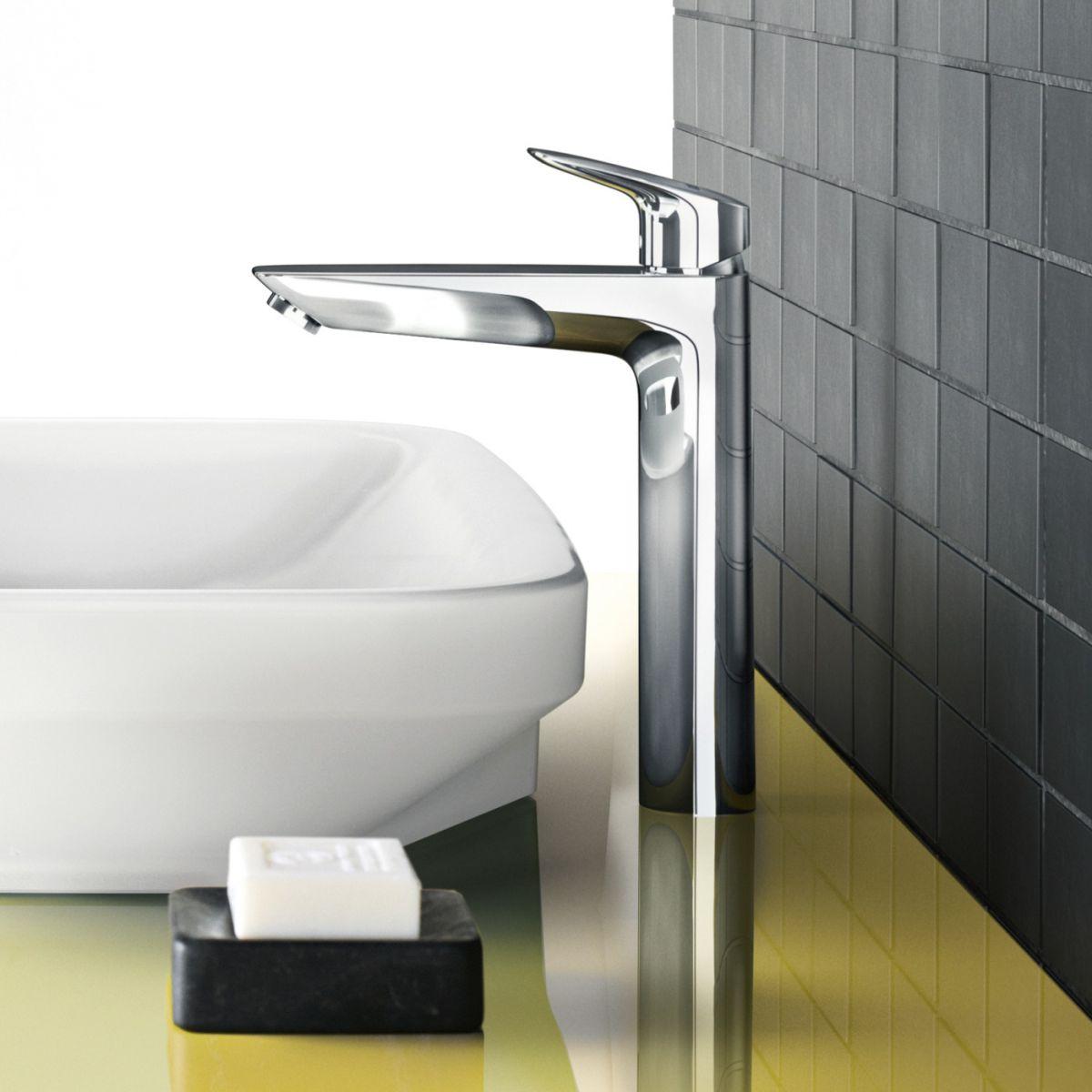 Hansgrohe Logis 190 Tall Basin Mixer | Bathrooms Direct Yorkshire