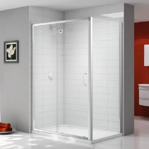 Ionic By Merlyn Express 6mm Sliding Door & Side Panel