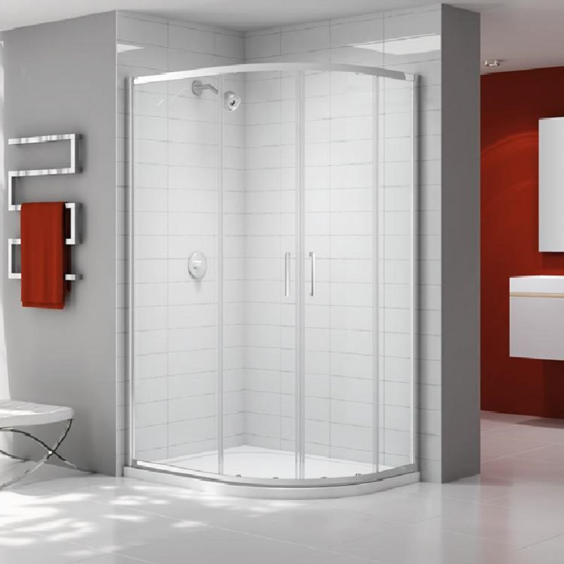 Ionic by Merlyn Express 2 Door Offset Quadrant Shower Enclosure