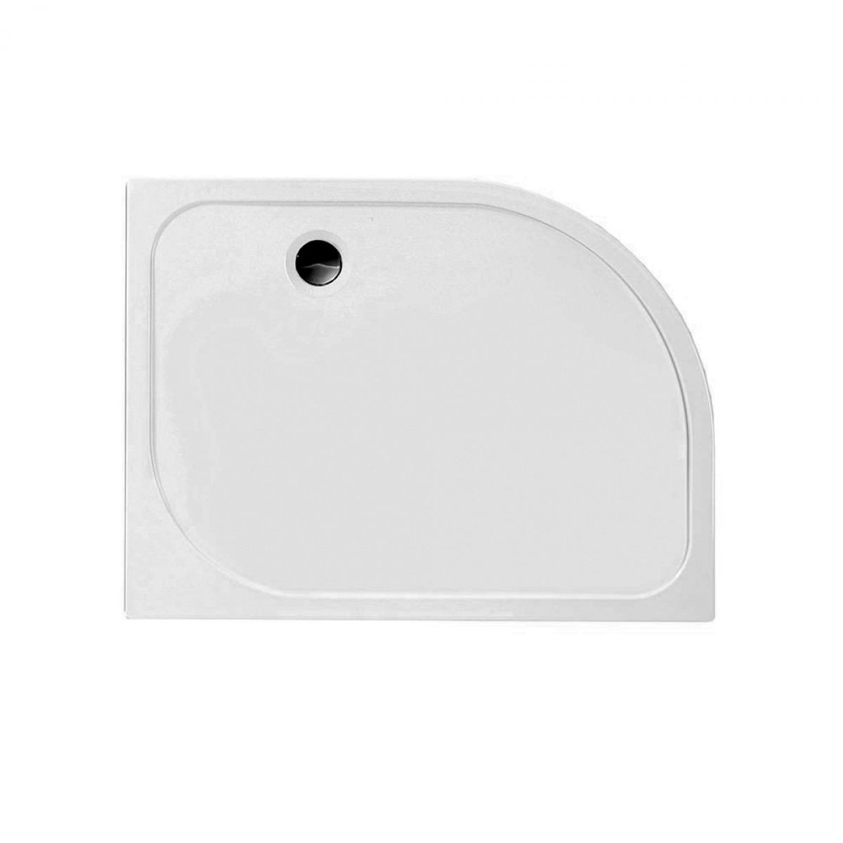 Merlyn MStone 45mm Offset Quadrant Shower Tray