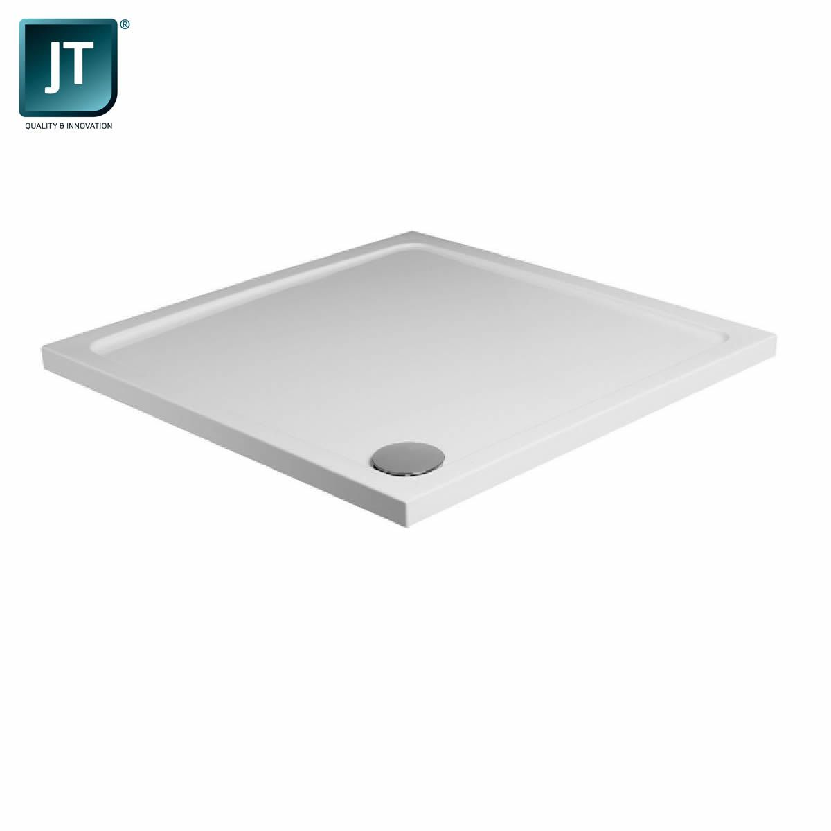 JT Fusion Low Profile Square Shower Tray