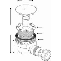 JT Fusion Low Profile Quadrant Shower Tray