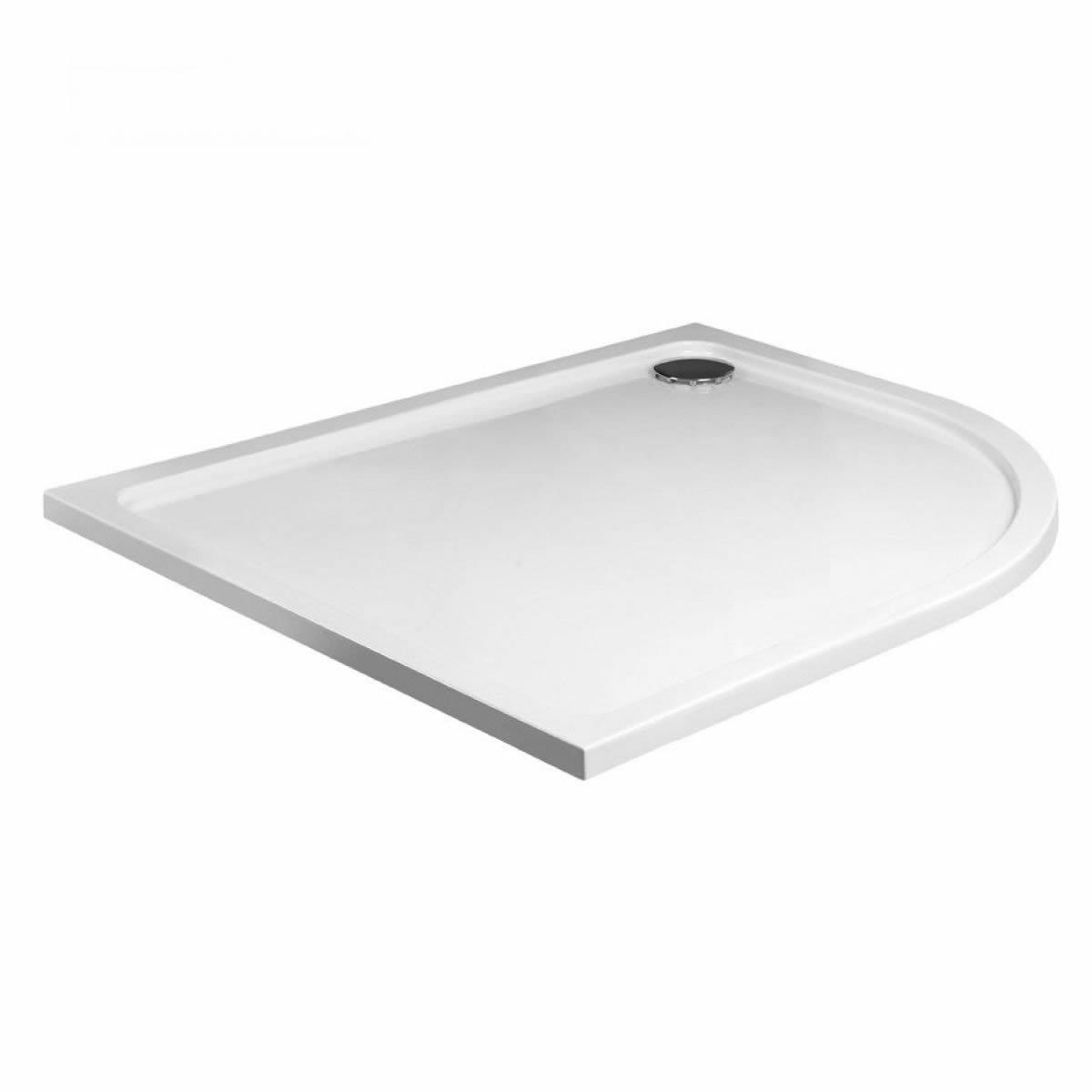 JT Fusion Low Profile Offset Quadrant Shower Tray