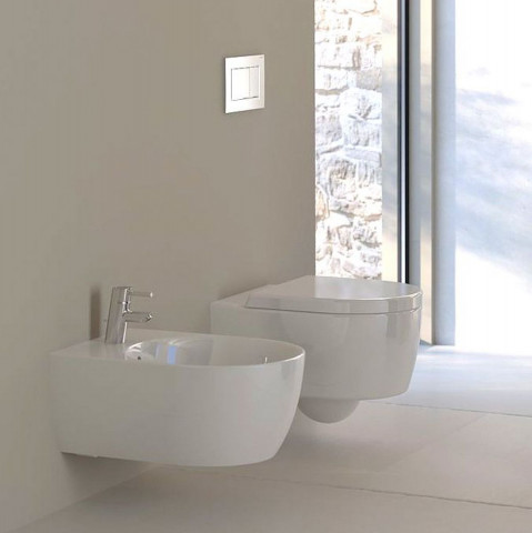 Geberit Icon Round Wall Hung Bidet