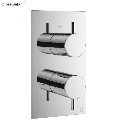 Crosswater Mike Pro Thermostatic Shower Valve 2 Controls