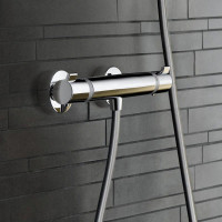 Hansgrohe Ecostat Comfort Thermostatic Exposed Shower Mixer