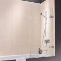Matki Eauzone Plus Hinged Bath Screen