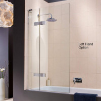 Matki Eauzone Plus Two Panel Bath Screen Outward Opening
