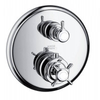 AXOR Montreux Thermostatic Shower Mixer With Shut Off Valve