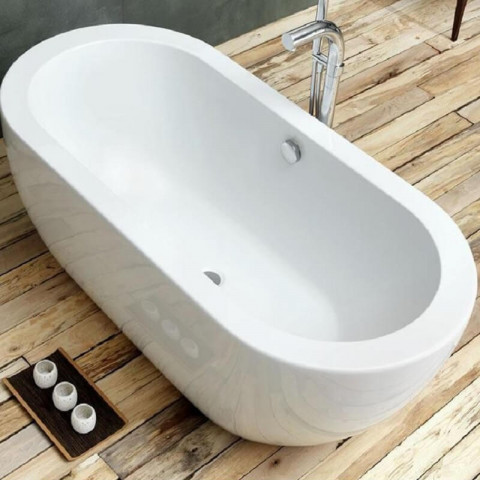 Waters Linear Willow 1690mm Freestanding Bath