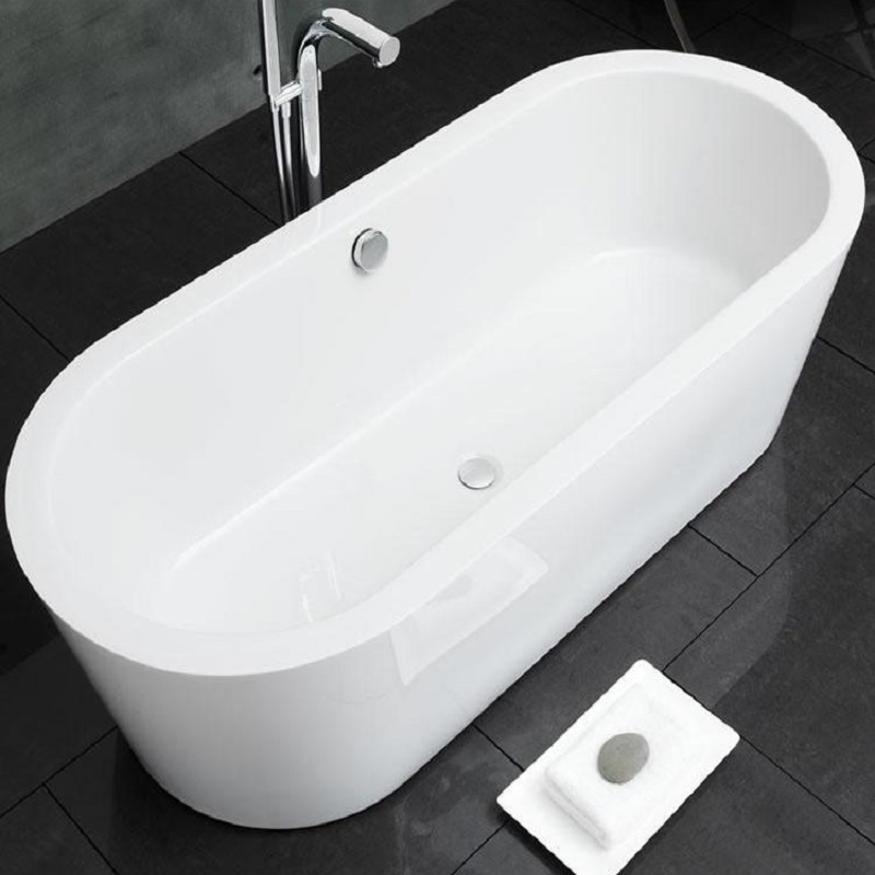 Waters Linear Marsh Freestanding Bath