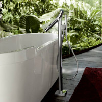 AXOR Starck Organic Floor Standing Thermostatic Bath Shower Mixer