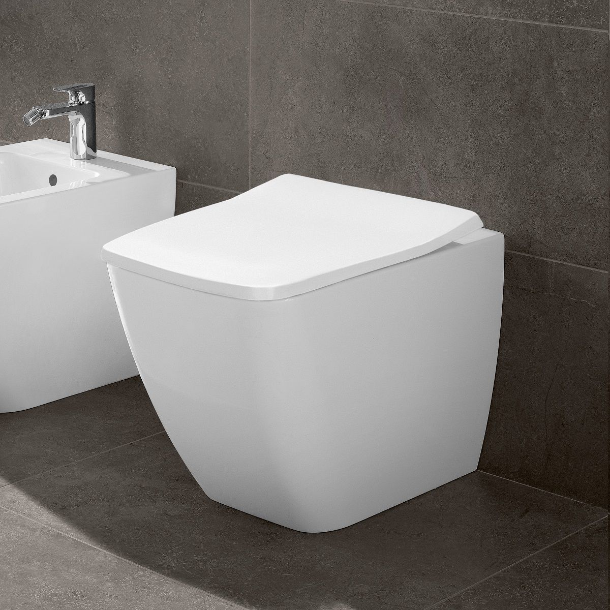 villeroy boch venticello rimless back to wall toilet bathrooms direct yorkshire. Black Bedroom Furniture Sets. Home Design Ideas