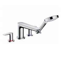 Hansgrohe Talis E 4 Hole Rim Mounted Bath Shower Mixer