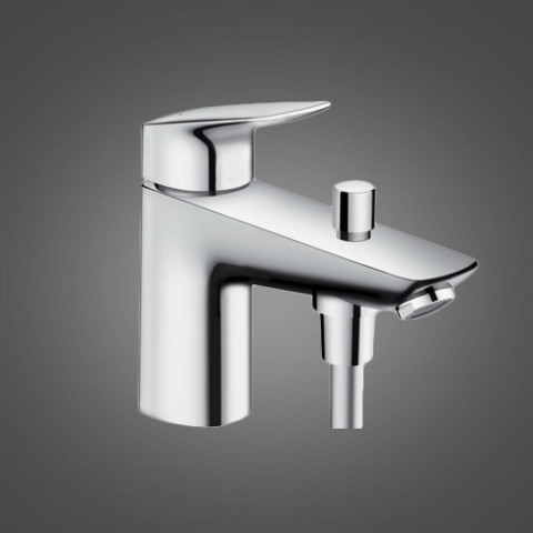 Hansgrohe Logis Monotrou Single Lever Bath Shower Mixer