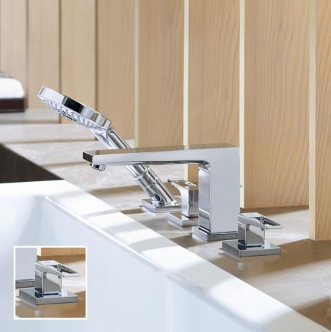 Hansgrohe Metropol 4 Hole Bath Shower Mixer Loop Handles