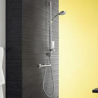 Hansgrohe Croma 100 Vario Ecostat Comfort Combi 0.65m Shower Set