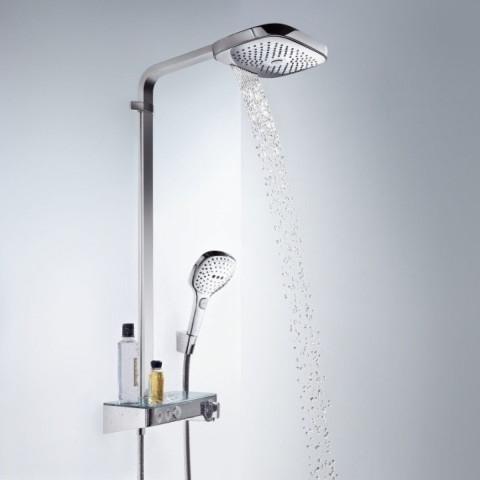 Hansgrohe Raindance Select E 300 3 Jet ST Showerpipe
