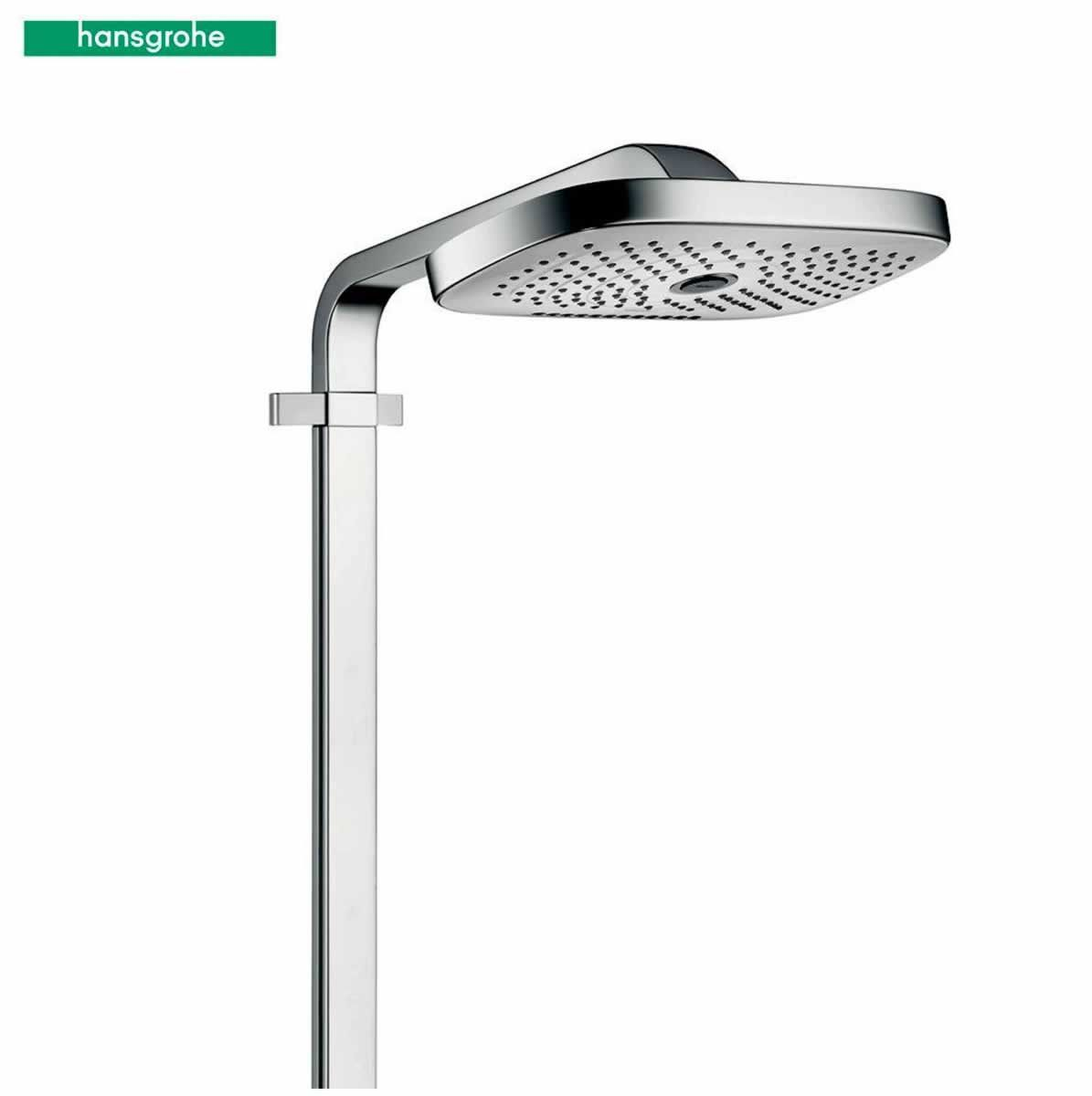 hansgrohe raindance select e 300 3 jet st showerpipe bathrooms direct yorkshire. Black Bedroom Furniture Sets. Home Design Ideas